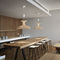 pendant lamp / contemporary / wooden / LED
