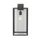 traditional wall light / bathroom / outdoor / stainless steel
