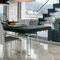 Contemporary table / wood / glass / extending AIR by Daniele Lago LAGO