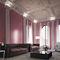 decorative coating / interior / for walls / plaster