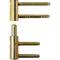 door hinge / stainless steel / bronze / polished stainless steel