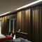 cover composite panel / wooden / wall-mounted / for interior