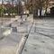 public space drainage channel / fiber-reinforced concrete / with grating