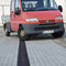 road drainage channel / fiber-reinforced concrete / with grating