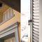 louvre shutter / aluminum / window / imitation wood
