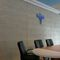 interior wall sound-absorbing panel / for double walls / wood wool / residential