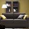 sofa bed / contemporary / fabric / 2-person