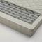 double mattress / foam / pocket spring / 160x200 cm
