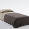 single bed / contemporary / on casters / folding