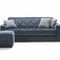 sofa bed / Art Deco / fabric / 2-person
