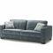 sofa bed / Art Deco / fabric / 2-person