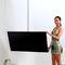 Contemporary TV ceiling mount / swivel TV Decken Halterung ART116 wissmann raumobjekte