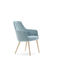 contemporary armchair / synthetic leather / upholstered / for hotels