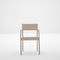 contemporary chair / with armrests / wooden / commercial