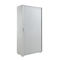 Low filing cabinet / tall / steel / tambour door Dieffebi