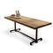 contemporary boardroom table / wood veneer / oak / rectangular