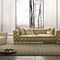 Chesterfield sofa / leather / 2-person / 4-seater