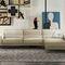 modular sofa / corner / contemporary / leather
