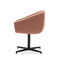 contemporary armchair / aluminum / fabric / with removable cover