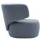 contemporary armchair / fabric / with removable cover / for public buildings