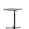 contemporary side table / wooden / round / square