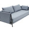 sofa bed / contemporary / fabric / steel