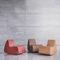 contemporary fireside chair / fabric / child's / modular