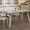 Contemporary dining table / glass / metal / tempered glass MARTE 160 Target Point New
