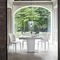 Dining table / contemporary / glass / tempered glass COPERNICO Target Point New