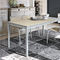 Dining table / contemporary / glass / laminate PERIGEO 115 Target Point New