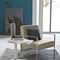 Contemporary armchair / steel NEVADA Target Point New
