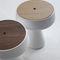 contemporary side table / wooden / polyethylene / Plexiglas®