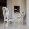 traditional chair / upholstered / medallion / wooden