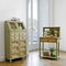 high sideboard / traditional / wooden