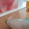 contemporary coffee table / wooden / glass / MDF