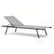 contemporary sun lounger / fabric / aluminum / stackable