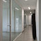 Swing door / aluminum / glazed / for public buildings TERTIAL HOYEZ SAS