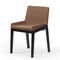 Contemporary chair / upholstered / wood TONIC by Lorenz Kaz Rossin