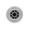 recessed floor spotlight / outdoor / LED / round