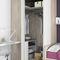 corner wardrobe / contemporary / wooden / with swing doors