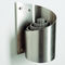 wall-mounted ashtray / pedestal / stainless steel / for outdoor use