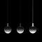 pendant lamp / contemporary / steel / painted steel