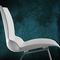 contemporary chair / with armrests / stackable / swivel