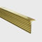 Aluminum junction profile / brass / outside corner / for tiles NOVOSEPARA 6 EMAC COMPLEMENTOS, S.L.