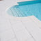 Engineered stone swimming pool coping GRENOBLE Verniprens