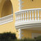 Engineered stone balustrade / bar / for balconies / for patios GENOVA Verniprens