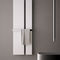 Hot water towel radiator / electric / metal / contemporary DUAL by Nicola Casassa Hotech Design