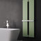 Hot water towel radiator / electric / metal / contemporary QUADRO by Nicola Casassa Hotech Design