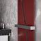 Hot water towel radiator / electric / metal / contemporary TRIADE by Nicola Casassa Hotech Design