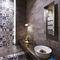 Wall tile / floor / porcelain stoneware / patterned INDIGO : DÉCOR MIX Novoceram sas